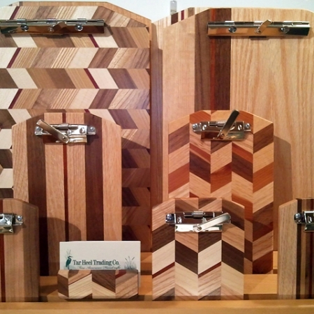 Inlaid Wood Clipboards