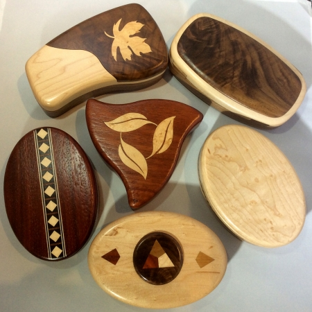 Heartwood Secret Boxes
