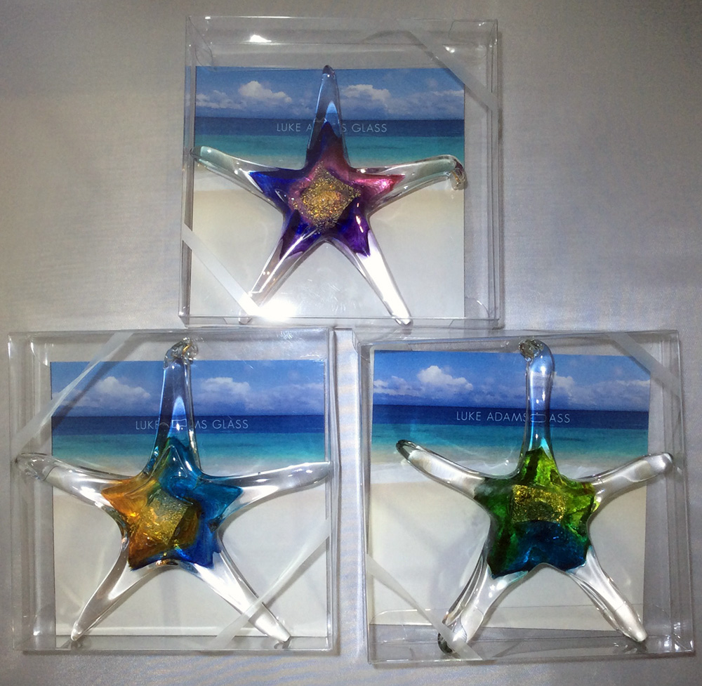 Luke Adams Glass Starfish